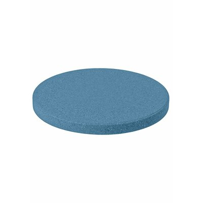 Matrix Round Table Top Finish: Blue, Size: 20 L x 20 W