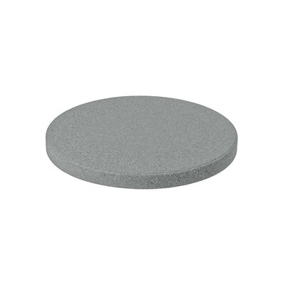 Matrix Round Table Top Finish: Gray, Size: 42 L x 42 W