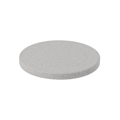 Matrix Round Table Top Finish: White, Size: 24 L x 24 W