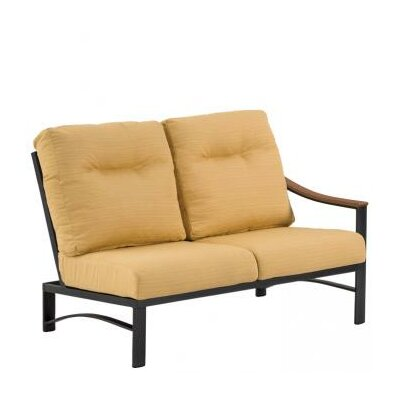 Brazo Woven 2-seat Module Sectional Piece With Cushions Sectional Orientation: Right Hand Facing