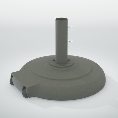 Aluminum Free Standing Umbrella Base Finish: Snow