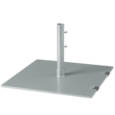 Free Standing Steel Plate Umbrella Base Finish: Woodland