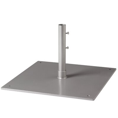 Free Standing Steel Plate Umbrella Base Parchment - Product photo