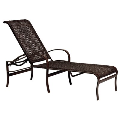 Palladian Chaise Lounge Finish: Mocha