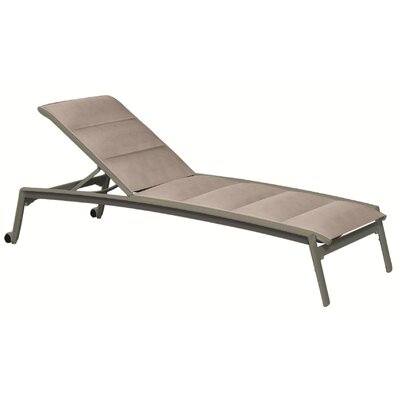 Elance Padded Sling Chaise Lounge