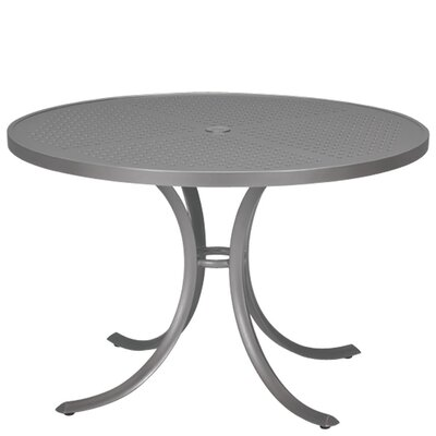 Boulevard Dining Table Table Size: 42, Finish: Graphite