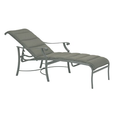 Montreu Padded Sling Reclining Chaise Lounge 387 Product Pic