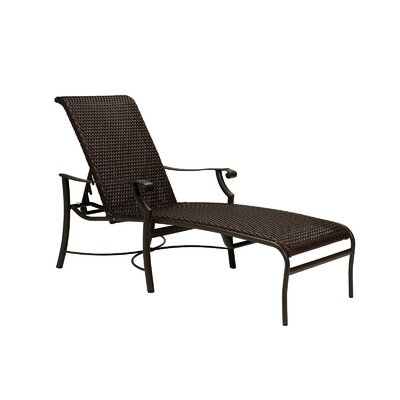 Montreux Chaise Lounge Finish: Mocha