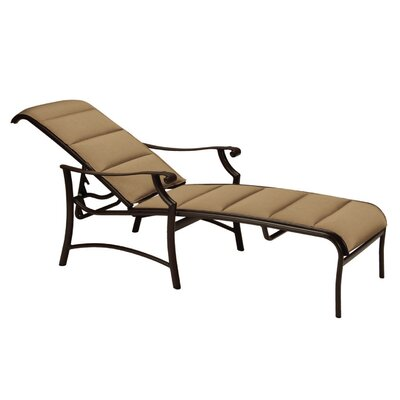Montreux II Padded Sling Chaise Lounge