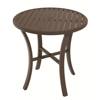 Banchetto Bar Table Table Size: 36, Finish: Greco
