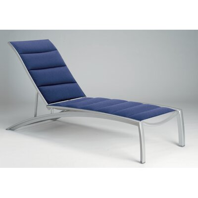 South Beach Padded Sling Chaise Lounge