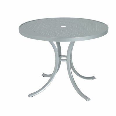 Boulevard Dining Table Finish: Snow, Table Size: 36