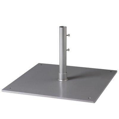 Steel Plate Umbrella Base Finish: Woodland