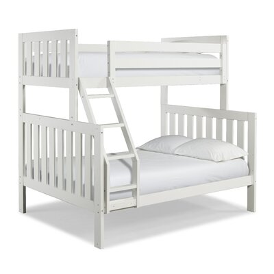 Lakecrest Twin over Full Bunk Bed Finish: White