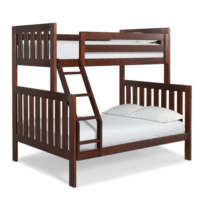 Lakecrest Twin over Full Bunk Bed Finish: Cherry