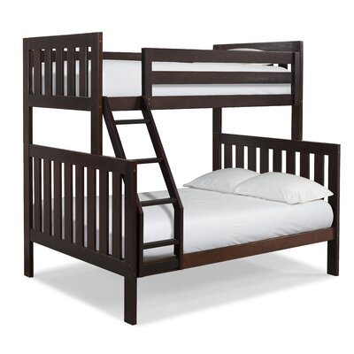Lakecrest Twin over Full Bunk Bed Finish: Espresso