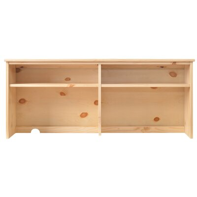 Lakecrest 22.68 H X 51.97 W Desk Hutch Color: Natural