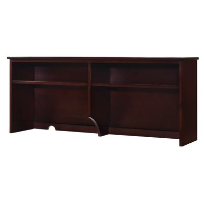 "Lakecrest 22.68"" H X 51.97"" W Desk Hutch Finish: Espresso"