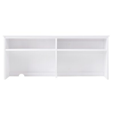 "Lakecrest 22.68"" H X 51.97"" W Desk Hutch Finish: White"