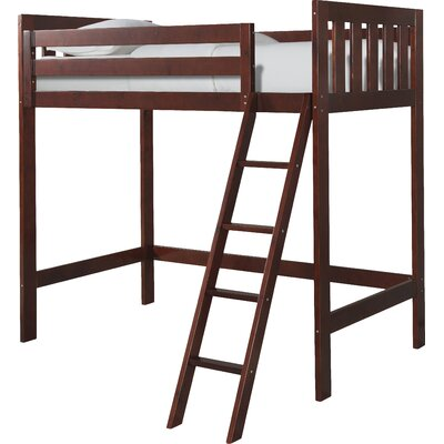 Lakecrest Twin Loft Bed Finish: Cherry