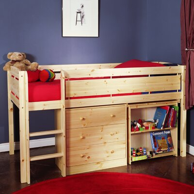 Buy Low Price Canwood Furniture Whistler Junior Twin Loft Bed With Built In Ladder Finish