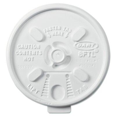 Lift n' Lock Plastic Hot Cup Lids for 6-10 oz. Cups (Carton of 1,000) DCC8FTL