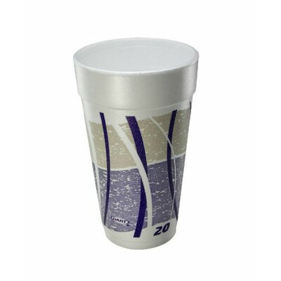 20 Oz Printed Impulse Foam Hot / Cold Drinking Cups DCC20J16E