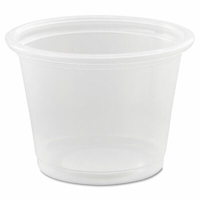 Conex Polypropylene 1 oz. Portion Container DCC100PC