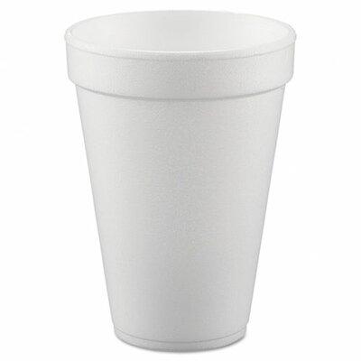 Conex Flush Fill 10 oz. Foam Cup DCC10FJ8
