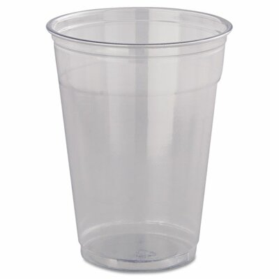 SOLO Cup Company Ultra Clear Cups,  12 oz, PET, 50/Bag, 20 Bags/Carton DCCTP22