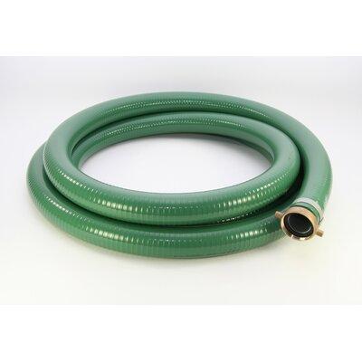 Abbott Rubber Company PVC Water Suction Hose - Color: Green, Diameter / Length: 1