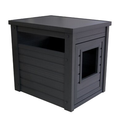 Habitat n Home Litter Box Enclosure Color: Espresso