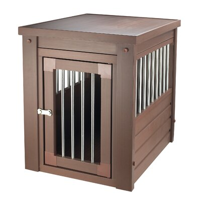 EcoFLEX Pet Crate End Table Color: Russet, Size: Small (22 H x 18.1 W x 23.6 L)