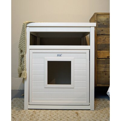 New Age Pet EcoFlex Jumbo Litter Loo Color: Antique White