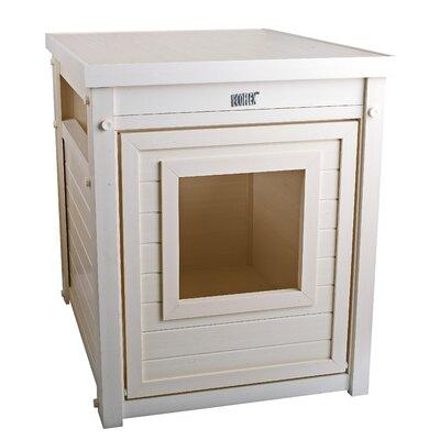 Habitat n Home ecoFLEX Litter Loo End Table Color: White
