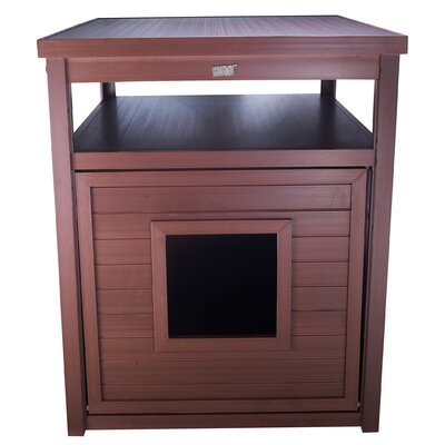 Frederick Jumbo Litter Box Enclosure Color: Russet