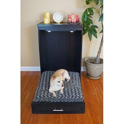 Ecoflex Abigail Murphy Classic Dog Bed Color: Espresso, Size: 39 W x 13 D