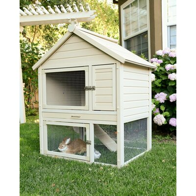 Evangelina ecoFLEX Two-Level Rabbit Hutch