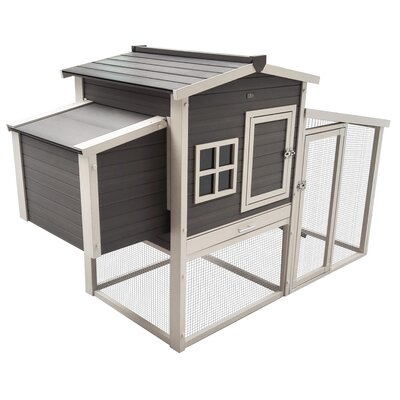 Hampton Chicken Coop with Roosting Bar
