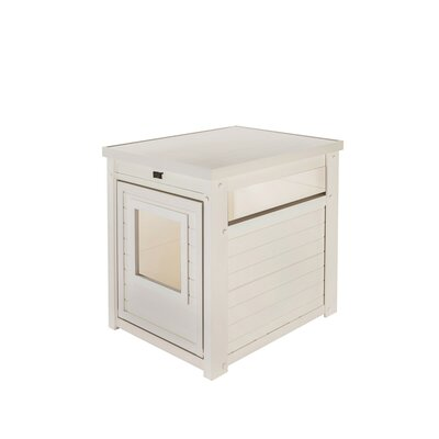 Habitat n Home Litter Box Enclosure Color: Antique White