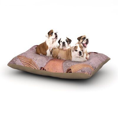 Suzanne Carter Prudence Portrait Dog Pillow with Fleece Cozy Top Size: Small (40 W x 30 D x 8 H)