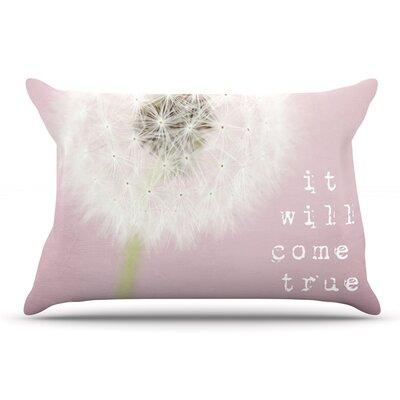 Susannah Tucker It Will Come True Flower Pillow Case
