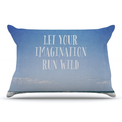 Susannah Tucker Let Your Imagination Run Wild Ocean Pillow Case