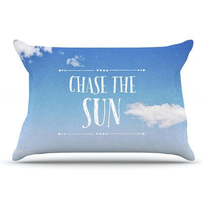 Susannah Tucker Chase The Sun Beach Sky Pillow Case
