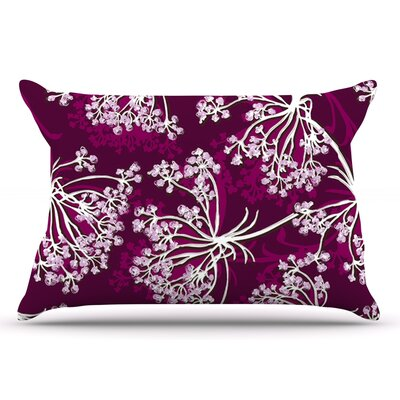 Suzie Tremel Squiggly Floral Pillow Case