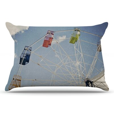 Susannah Tucker The Show Came To Town Carnival Pillow Case