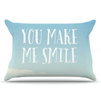 Susannah Tucker You Make Me Smile Beach Sky Pillow Case