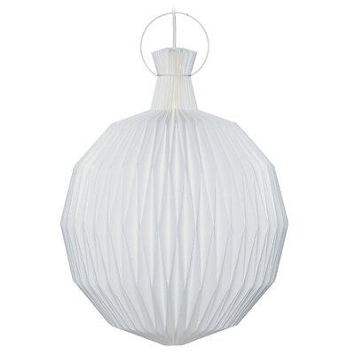 1-Light Globe Pendant Size: 14.17 H x 10.63 W x 10.63 D