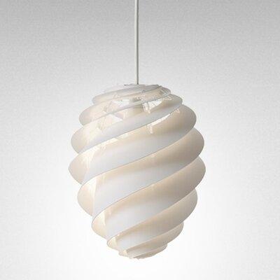 Swirl Mini Pendant Size: 17.72 H x 14.17 W x 14.17 D