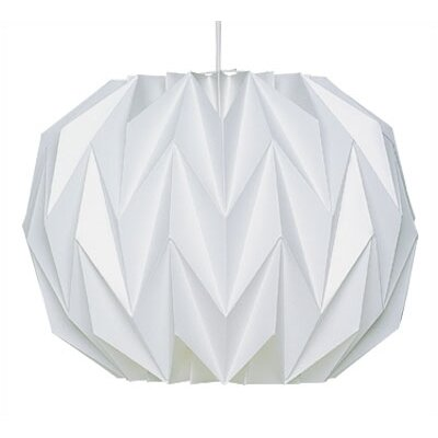 LK157 1-Light Mini Pendant Size: 11 3/4 Dia x 9 H
